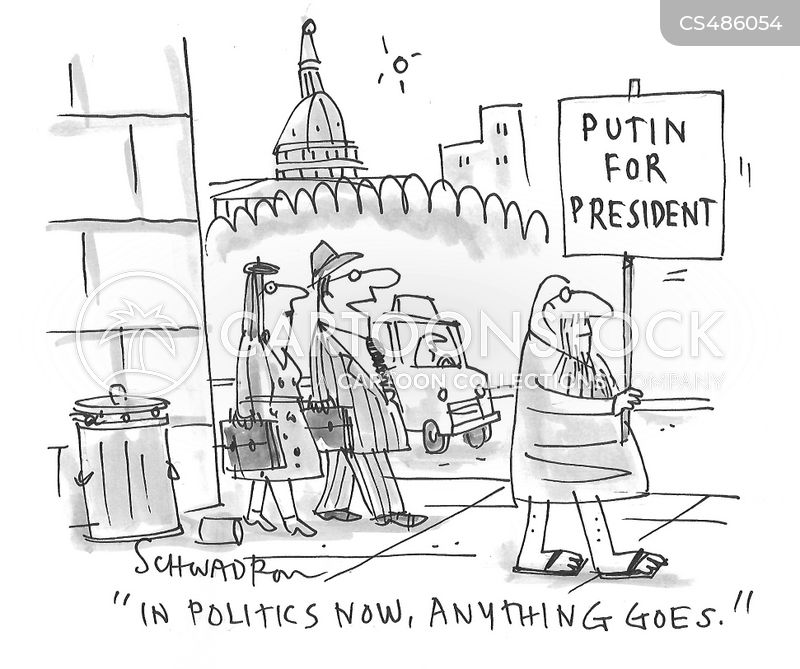 presidential election 2020 cartoon