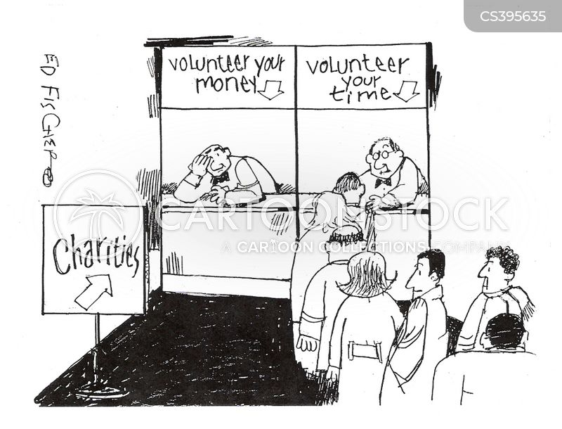 non profits cartoon