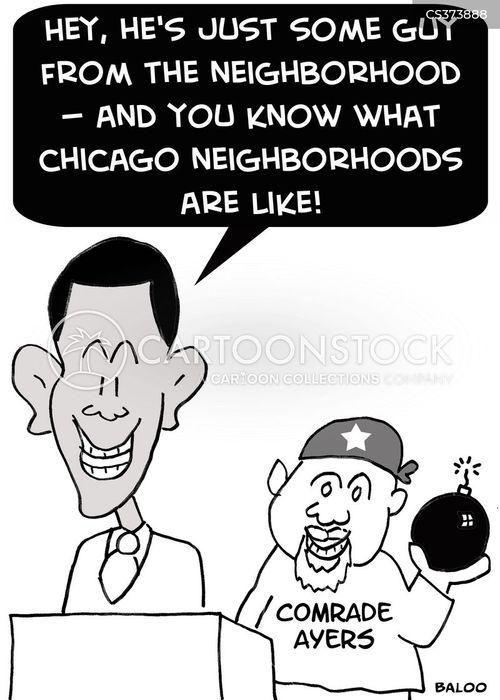 chicago cartoon