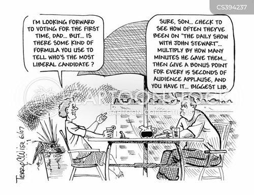 left-winger cartoon