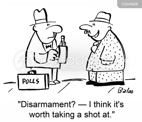 disarmament cartoon