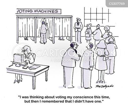 polled cartoon