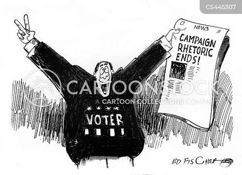 election apathy cartoon