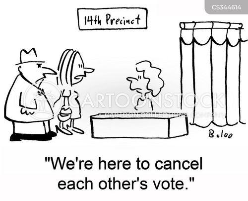 precincts cartoon