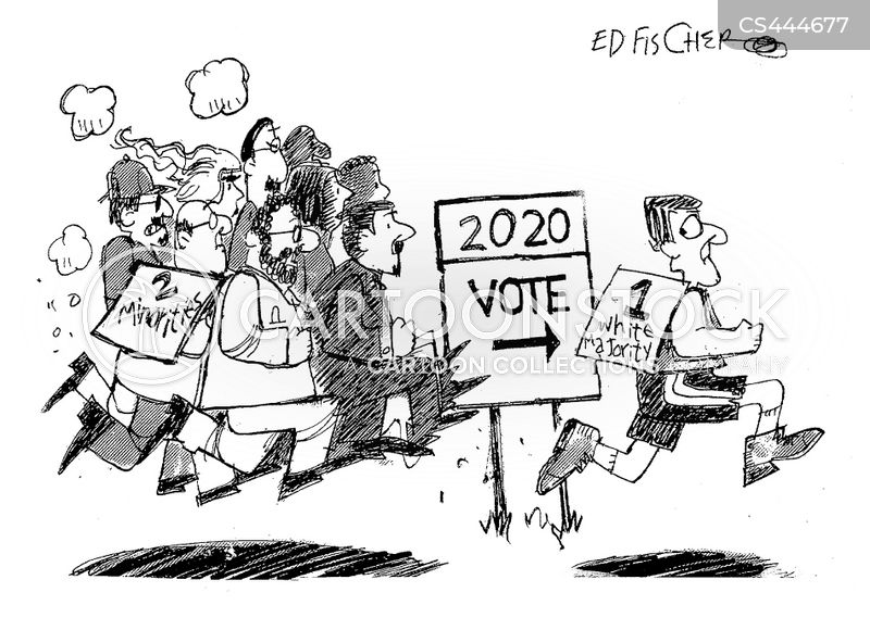majority cartoon