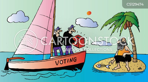registered voter cartoon