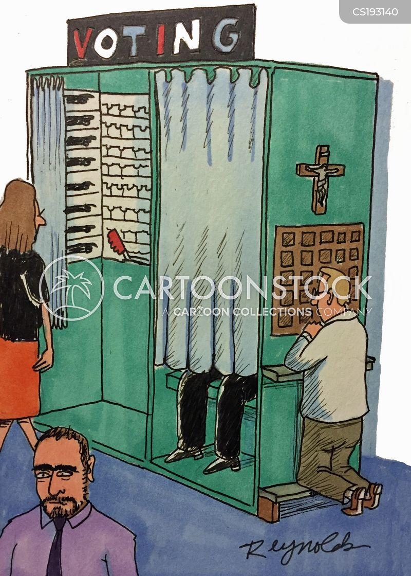 confessionals cartoon