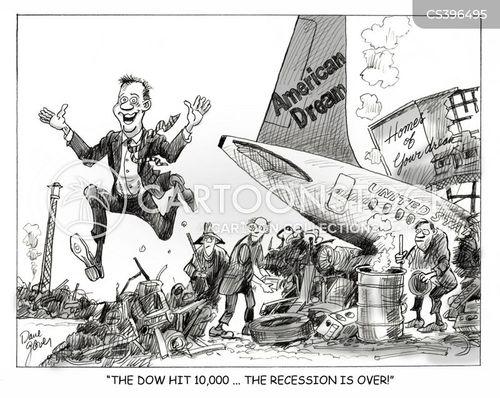 economy us cartoon