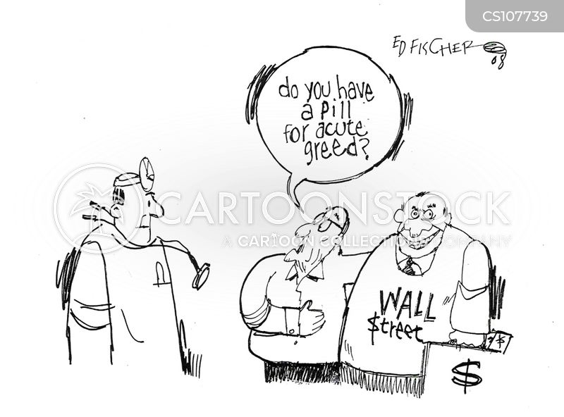 pay out cartoon