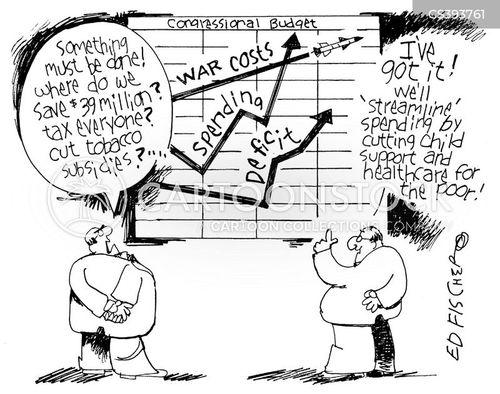 government money cartoon