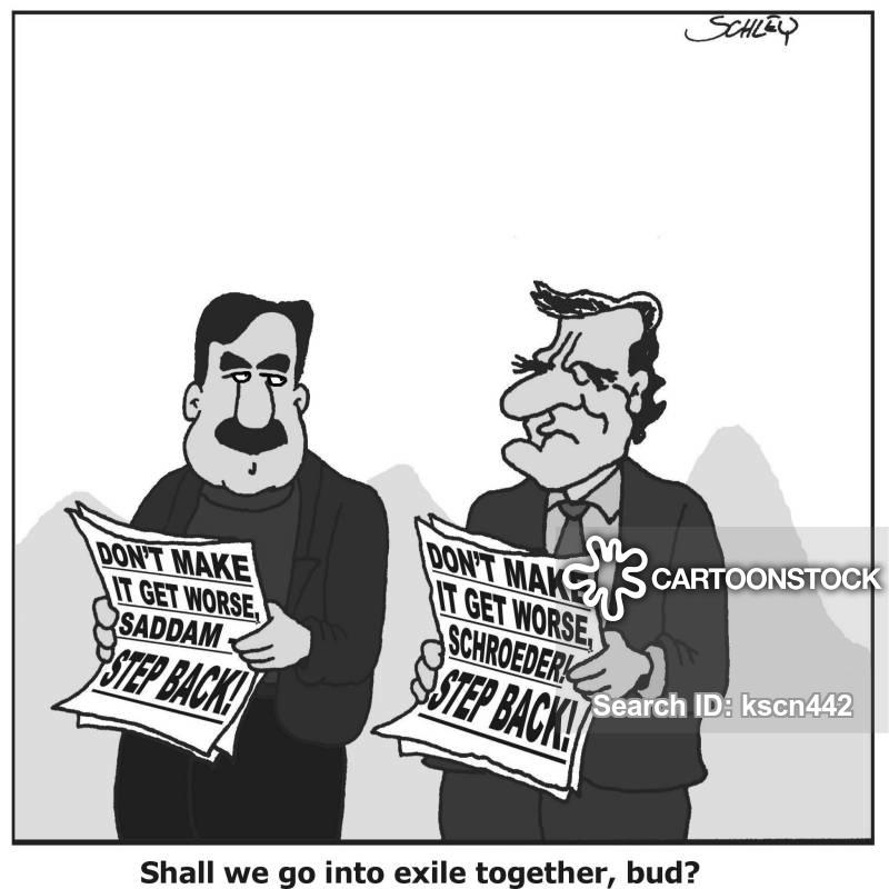 exiled cartoon