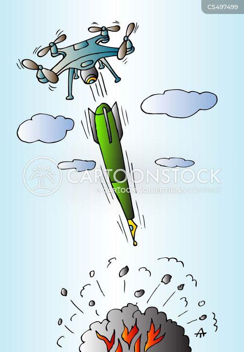 missile strike cartoon
