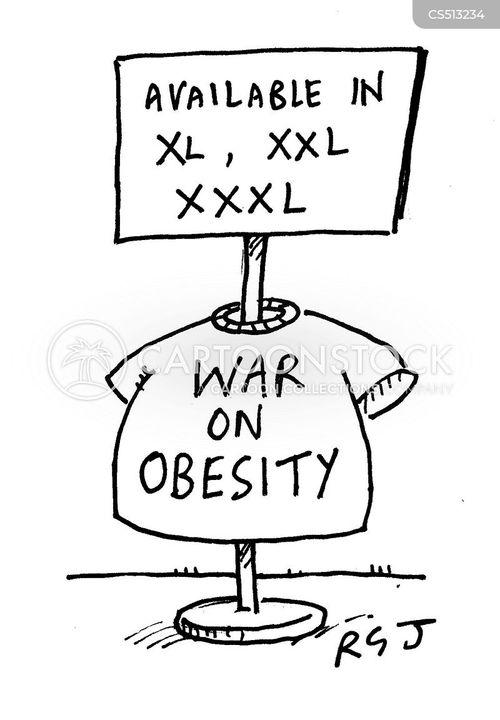 clothing sizes cartoon