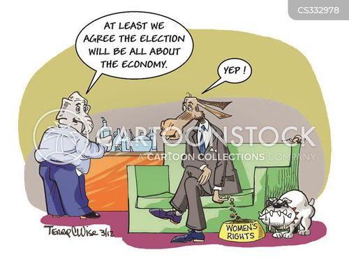 voter rights cartoon