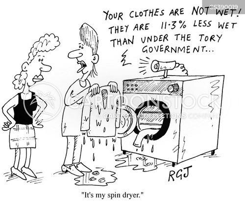tumble dryers cartoon