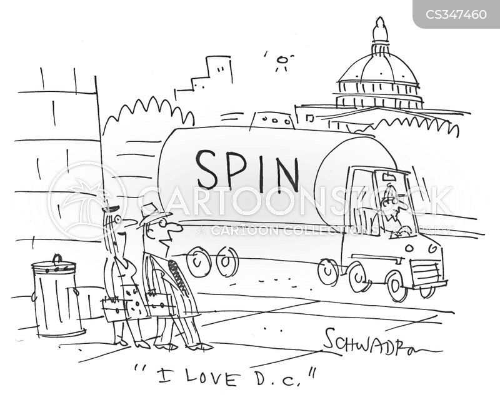 spin-doctor cartoon