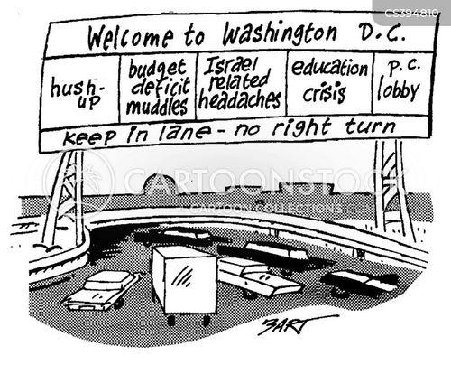 political cover up cartoon