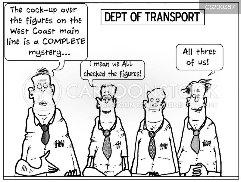 rail bid cartoon
