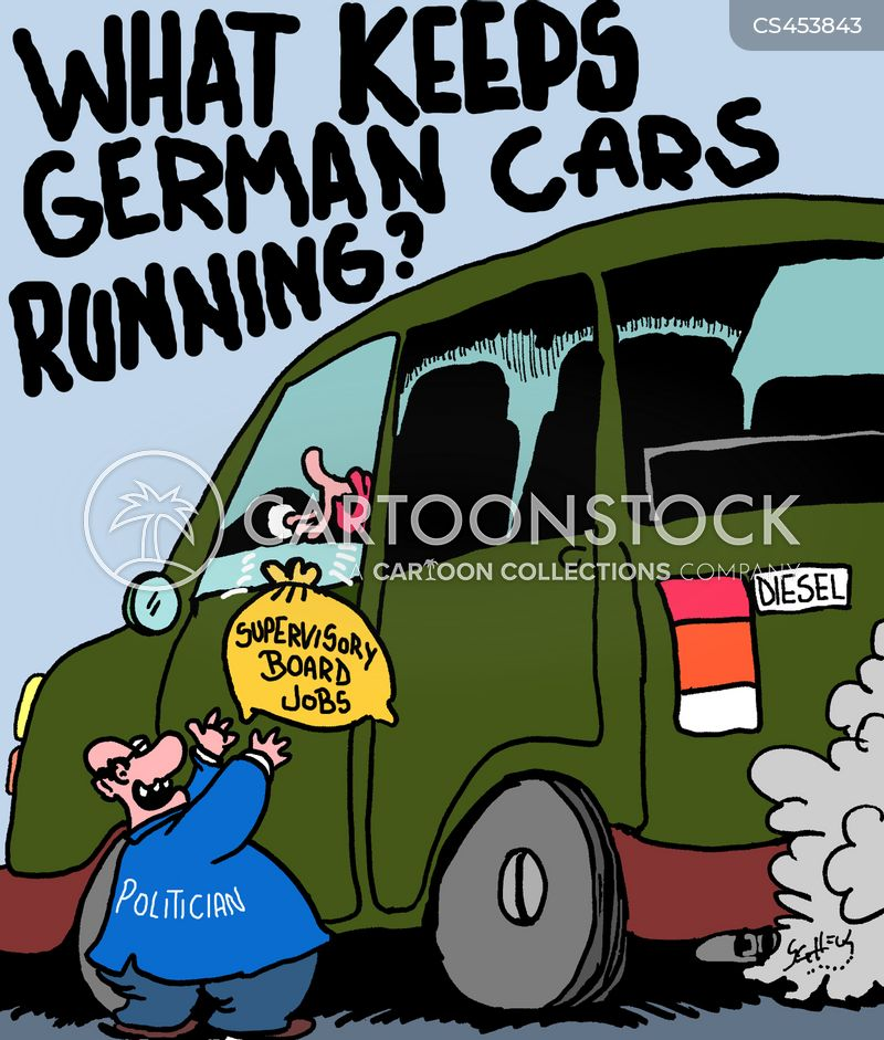 car companies cartoon