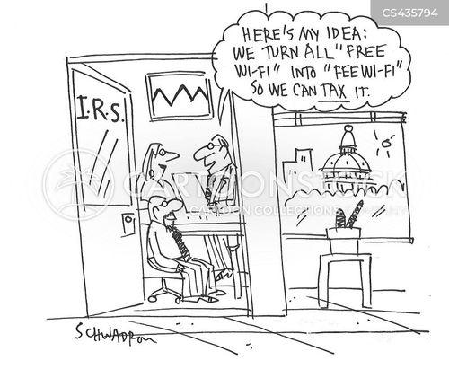 wireless technology cartoon