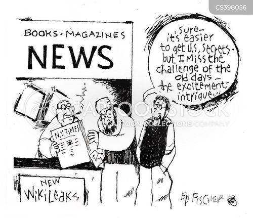 wiki leak cartoon
