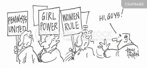 gender debate cartoon