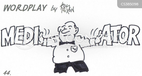 mediators cartoon