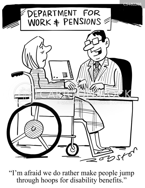 disability allowances cartoon