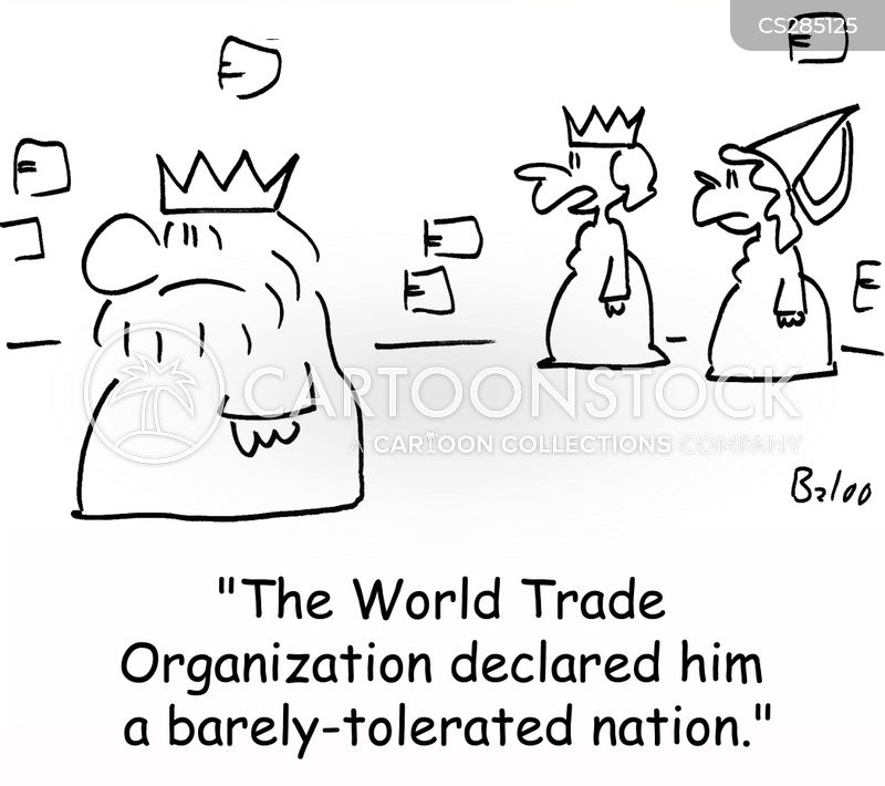 world trade organization cartoon