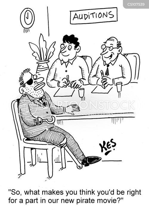 casting agents cartoon