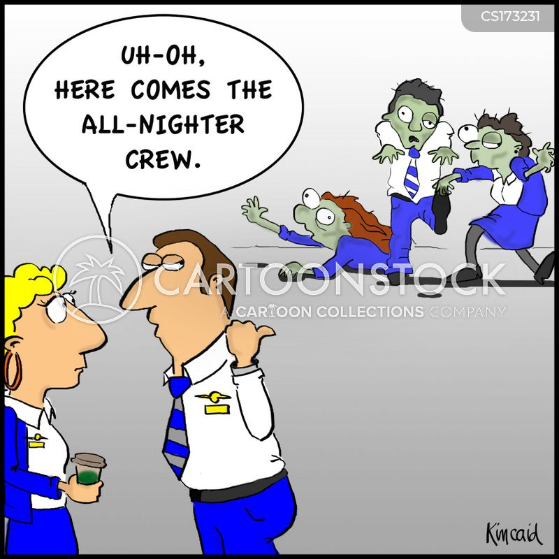 steward cartoon