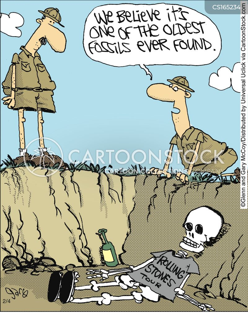 bones cartoon