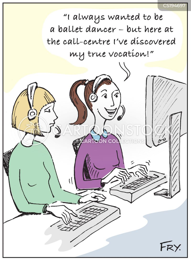 vocations cartoon