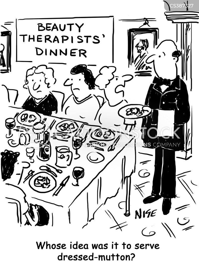 annual dinners cartoon