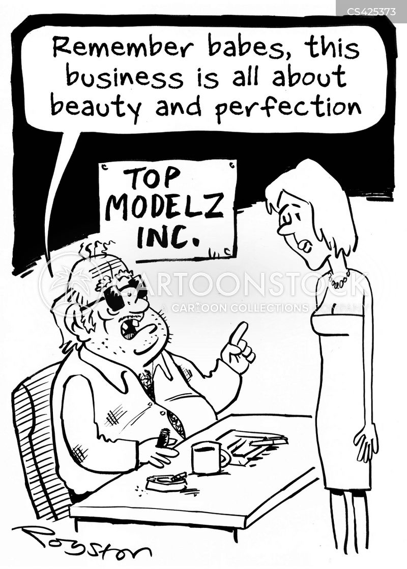 beauties cartoon