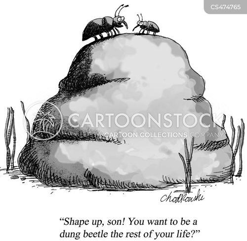 ambitious parent cartoon