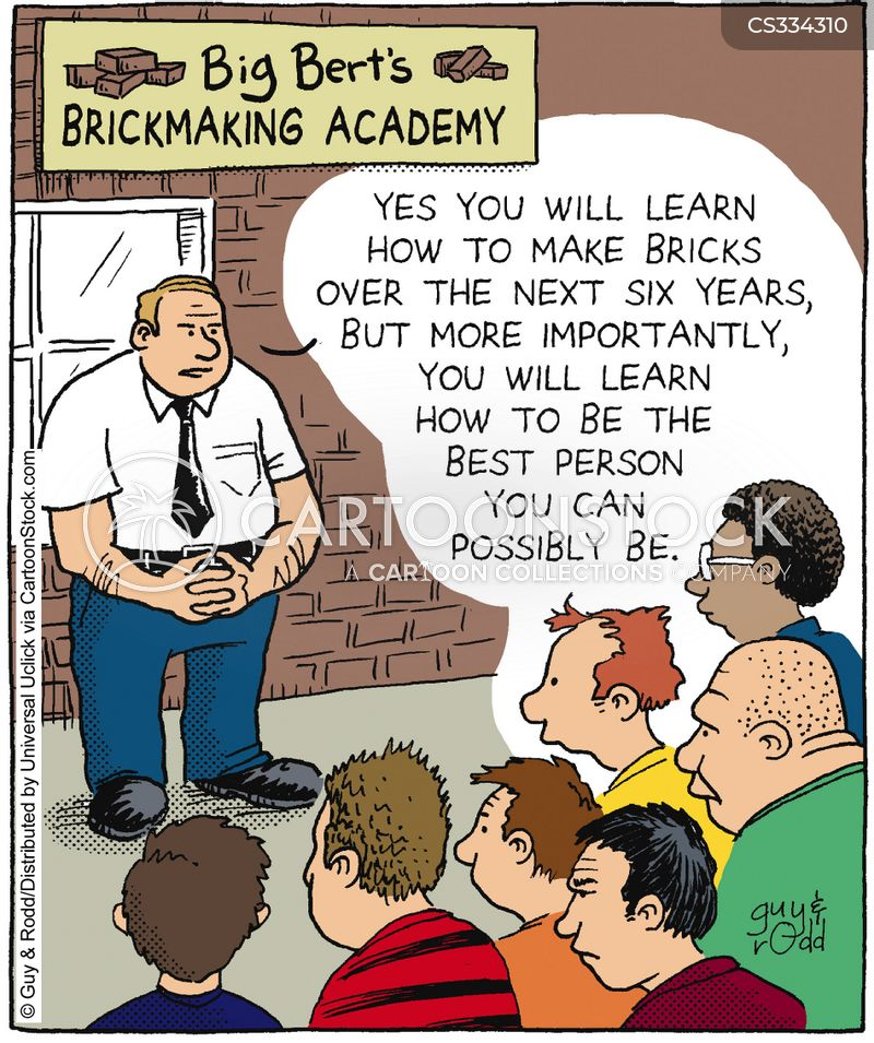 brickmaker cartoon
