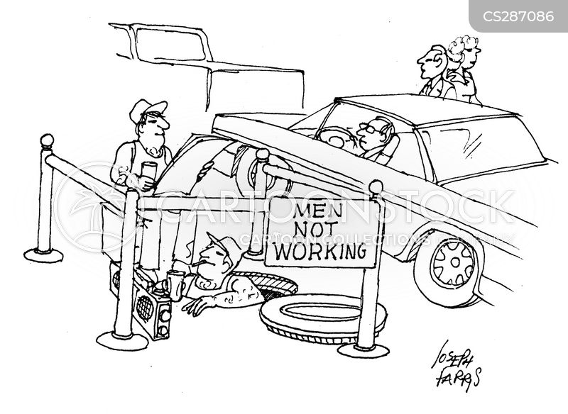 Road Engineer cartoons, Road Engineer cartoon, funny, Road Engineer picture, Road Engineer pictures, Road Engineer image, Road Engineer images, Road Engineer illustration, Road Engineer illustrations