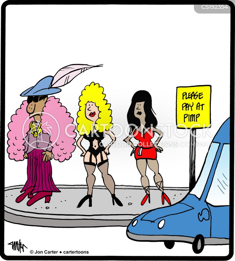 hookers cartoon