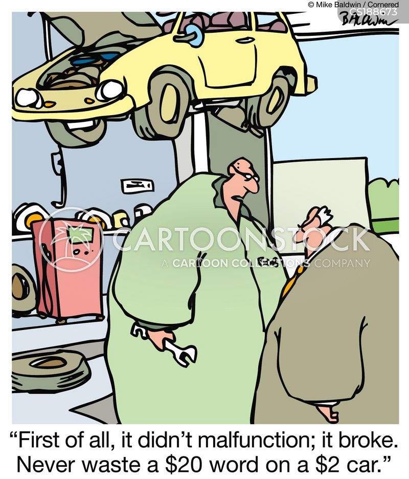 malfunction cartoon