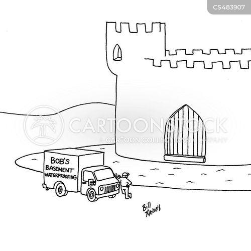 waterproofing cartoon