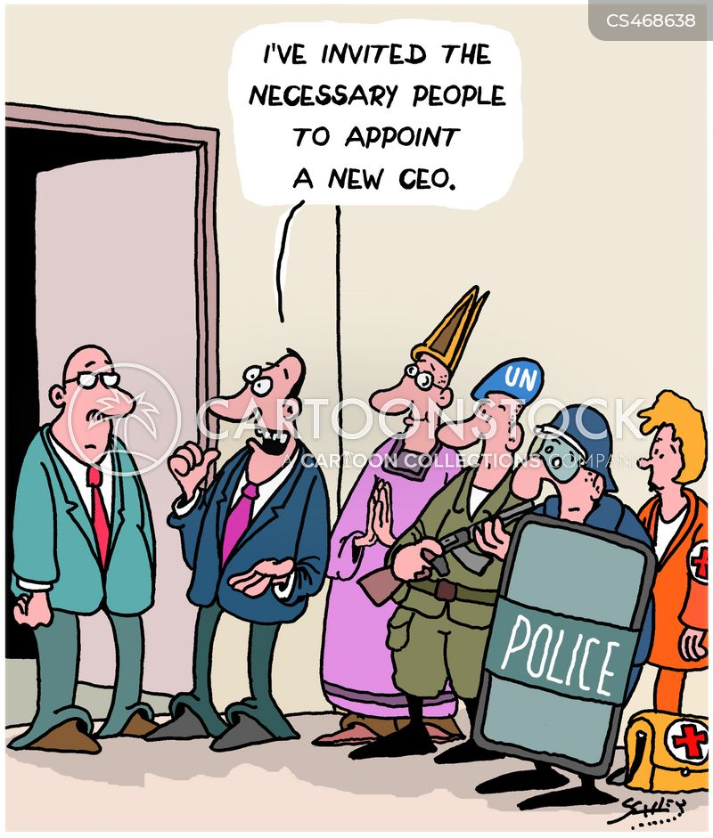 top job cartoon