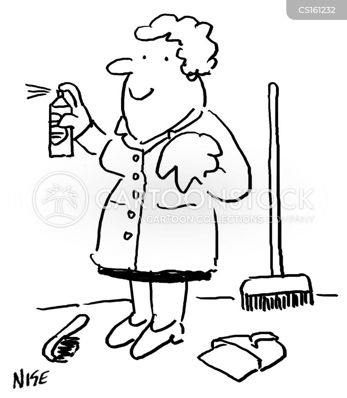 housekeepers cartoon