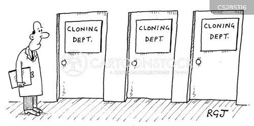 reproducing cartoon