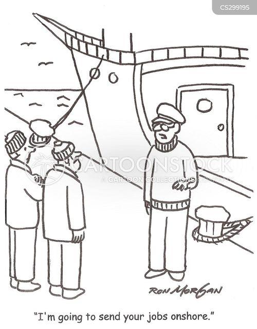offshoring cartoon