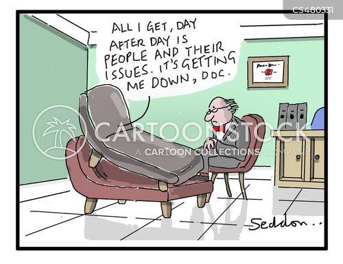 job risks cartoon