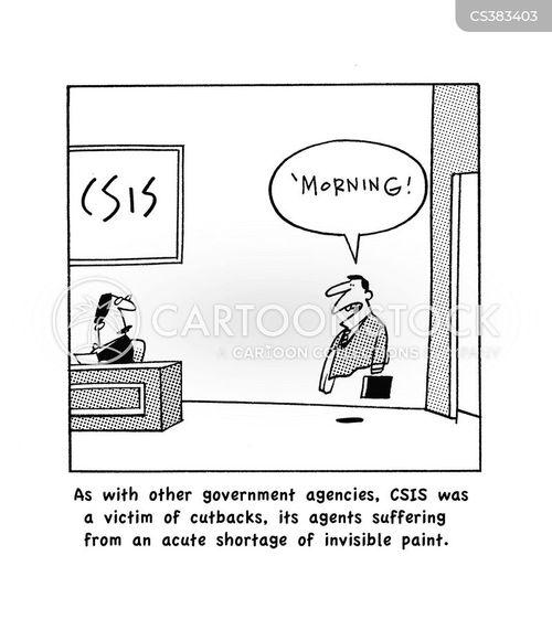 economic cuts cartoon