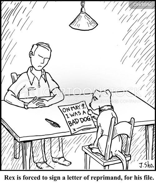 job review cartoon