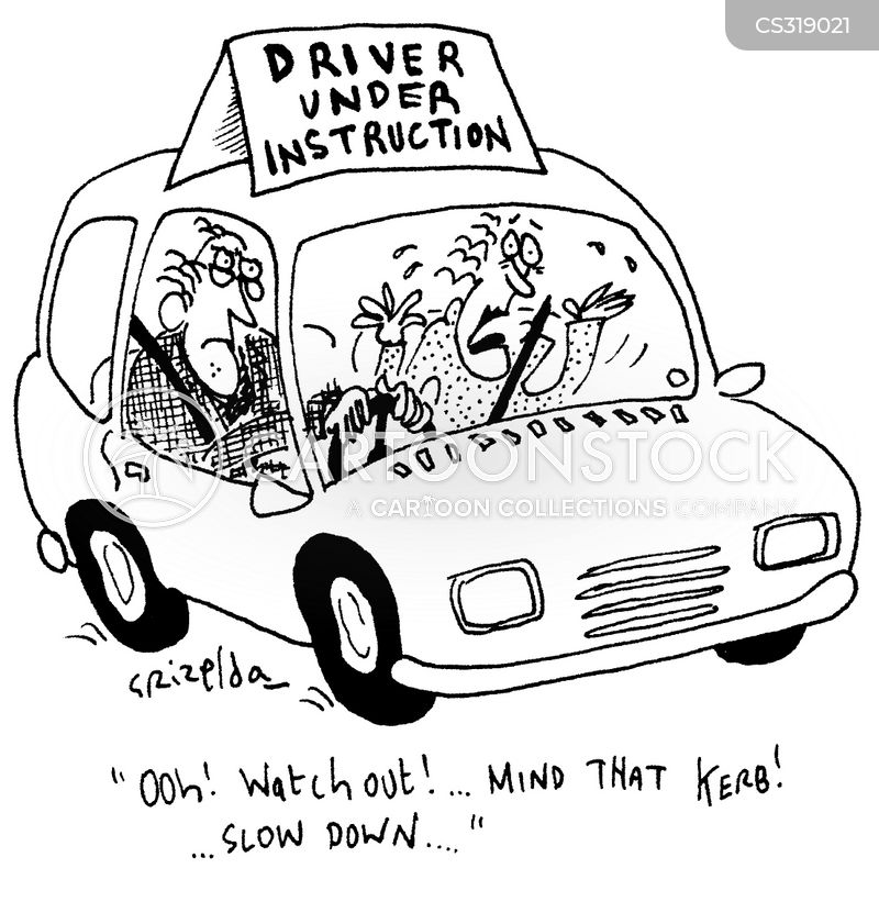 Driving Instruction Cartoons And Comics Funny Pictures From