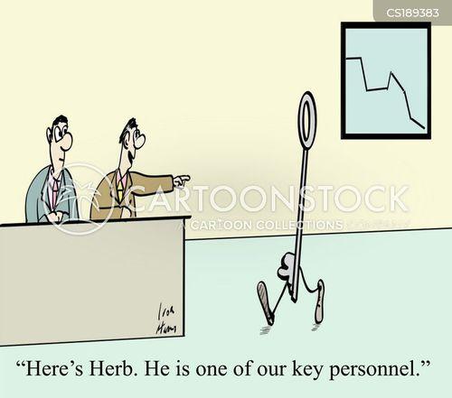 keys cartoon